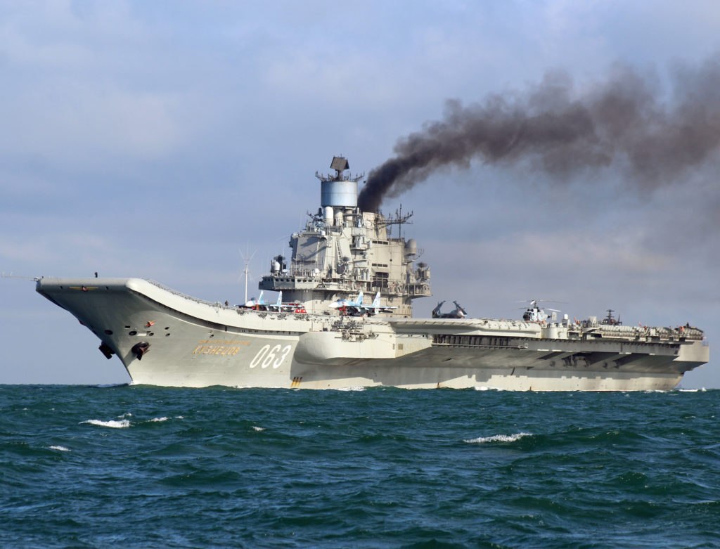 Head Of Crimea Offers Republic's Largest Shipyard To Build New Russian Aircraft Carriers