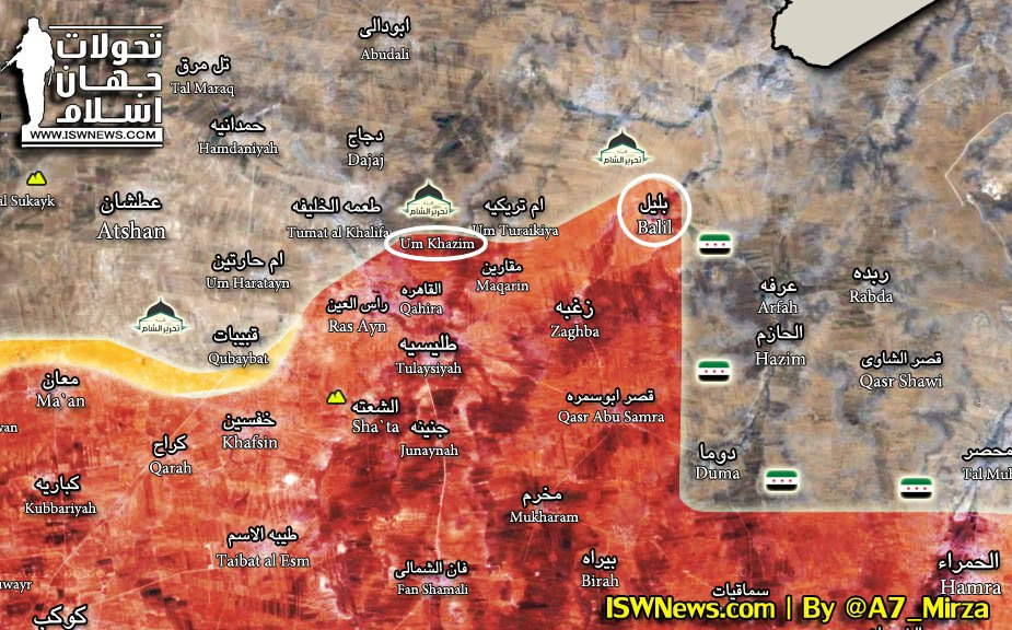 Map Update: Syrian Army Retakes Points From Hayat Tahrir al-Sham In Northern Hama