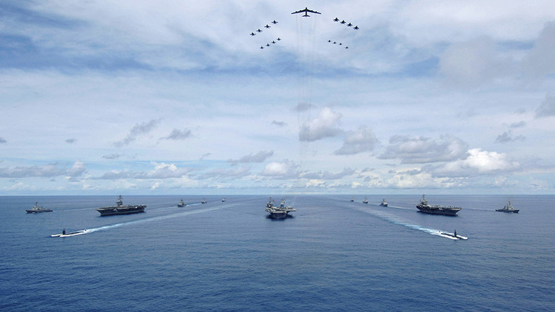 Three U.S. Aircrat Carrier Strike Groups To Hold Joint Drills In Western Pacific