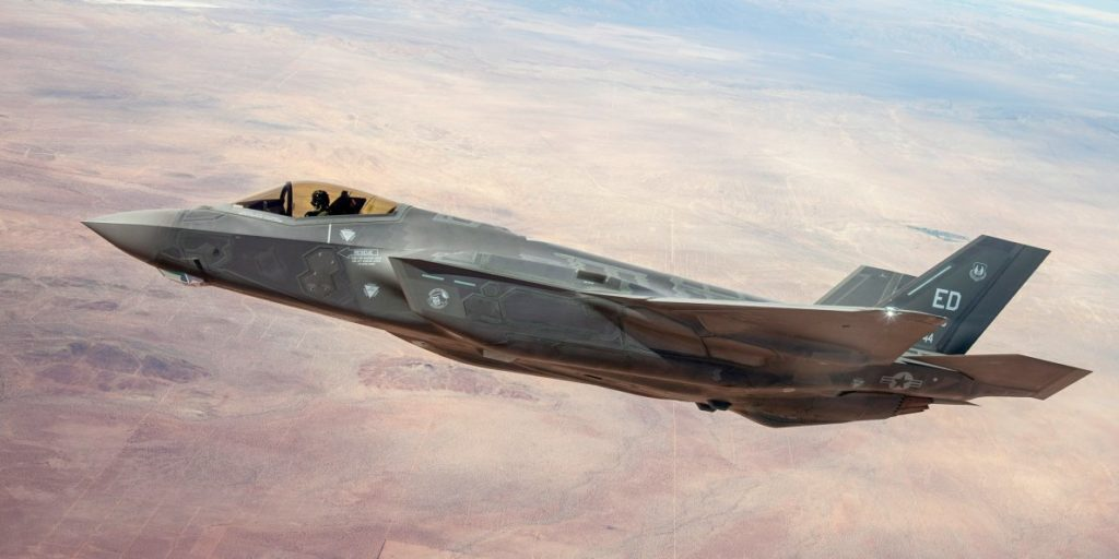 US Air Force F-35 Made Emergency Landing In Okinawa