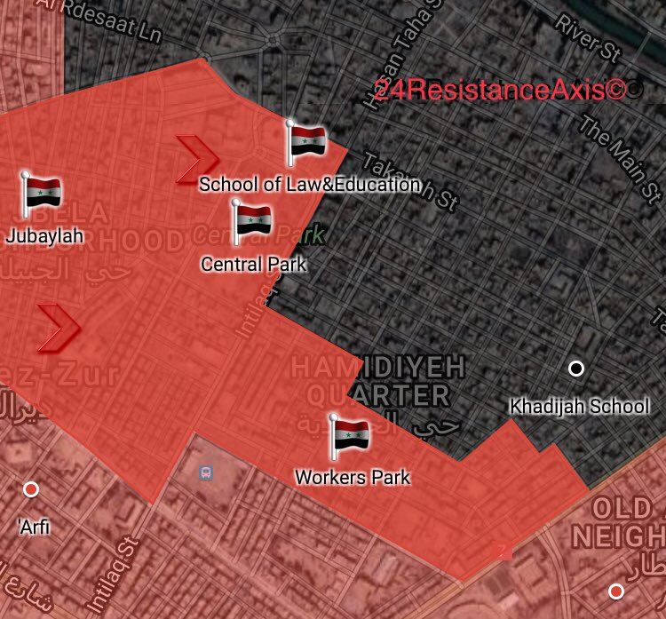 Syrian Troops Expel Militants From More Area In Deir Ezzor City (Map)