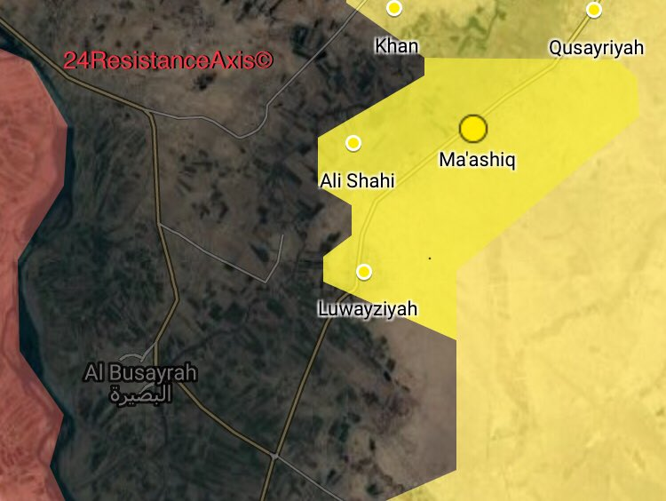 US-backed Forces Captured 3 Villages From ISIS In Eastern Deir Ezzor Counrtyside (Map)