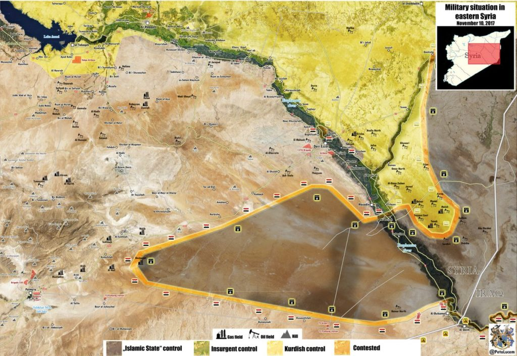 Syrian Troops Still Struggling To Secure Al-Bukamal Area Amid ISIS Coutner-Attacks (Map)