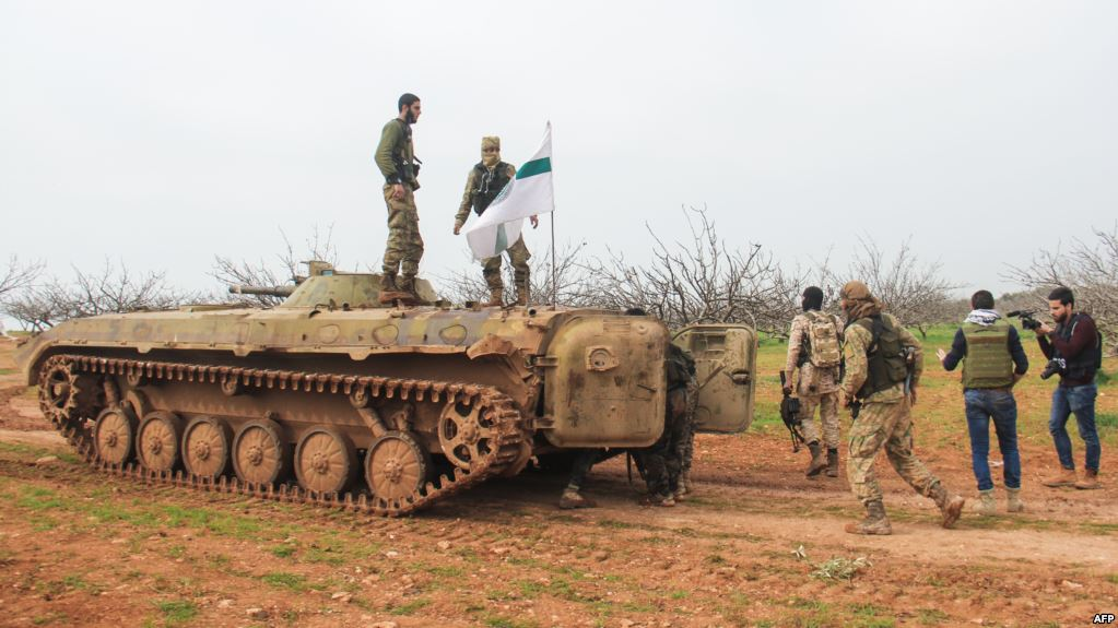 Nour al-Din al-Zenki And Hatyat Tahrir al-Sham Are In Open War For Syria's Idlib Province