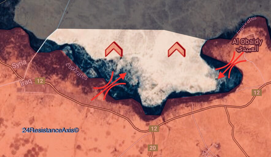 Maps: Iraqi Forces Advancing On ISIS-held Town Of Rawa