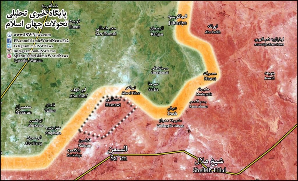 Clashes Between Government Troops And Militants Renew Near Hasnawi In Northeastern Hama