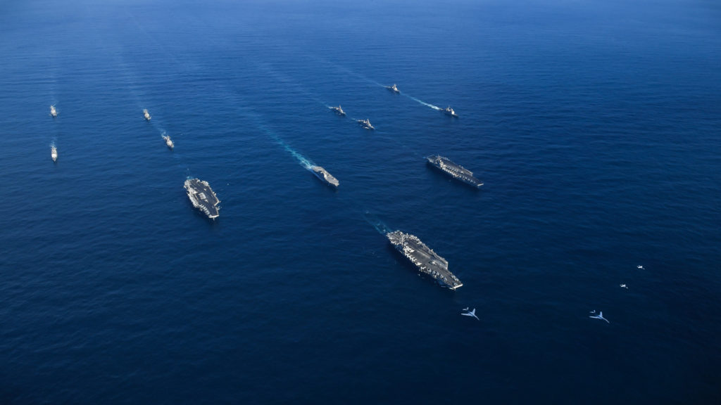 Three Carrier Strike Groups In Show Of US 'Negotiating Strategy' Off North Korea (Photos, Videos)