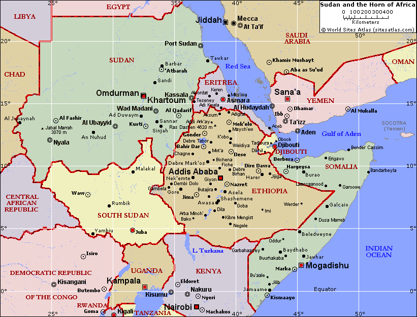 The Horn of Africa + Sudan are replacing the Middle East as the Geo-Political Danger Zone