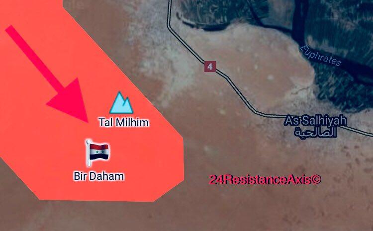 Tiger Forces Reached As Salhiyah Village En Route To Al-Bukamal