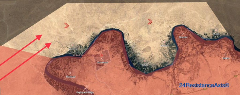 Iraqi Forces Clearing Euphrates Valley From ISIS, Move To ISIS-held Town Of Raqa (Maps)
