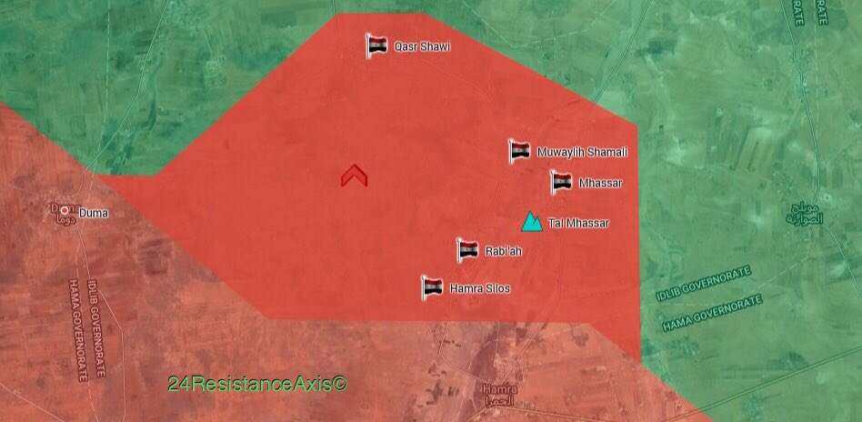 Syrian Troops Retake Large Area From Militants In Northern Hama (Map)