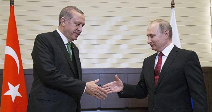 Russian President Putin Met With Turkish President Erdogan In Sochi