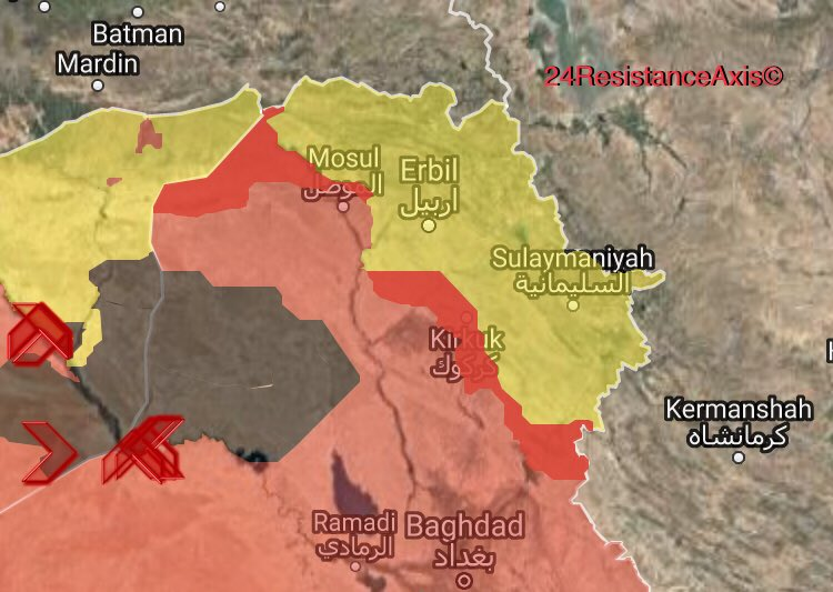 Iraqi Troops Deploy In Key Border Crossings Between US-backed Forces In Syria And Iraqi Kurdistan Region