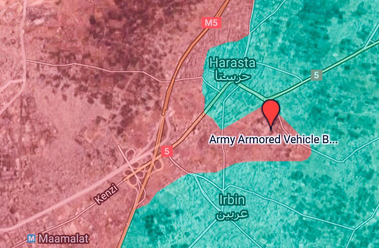 Syrian Troops Repelled Large Militant Attack In Eastern Ghouta