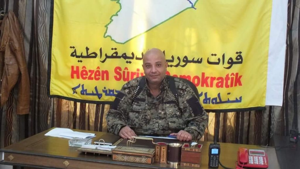 SDF Spokesman Defected To Turkish-backed Forces - Unconfirmed