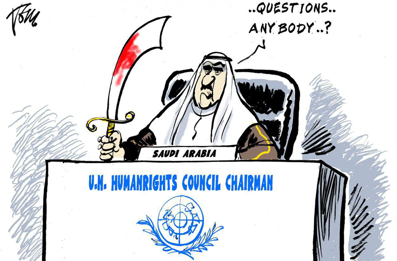 Hypocrisy: UN Passed Saudi Arabia's Resolution On Human Right Violations In Syria, Iran, North Korea
