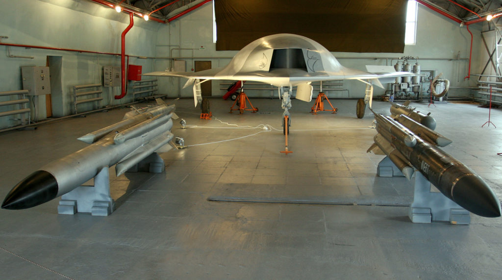 Russia Is Developing 15 Ton Unmanned Combat Aerial Vehicles