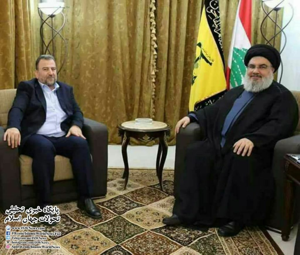 Hezbollah And Hamas Leaders Met In Lebanon's Beirut