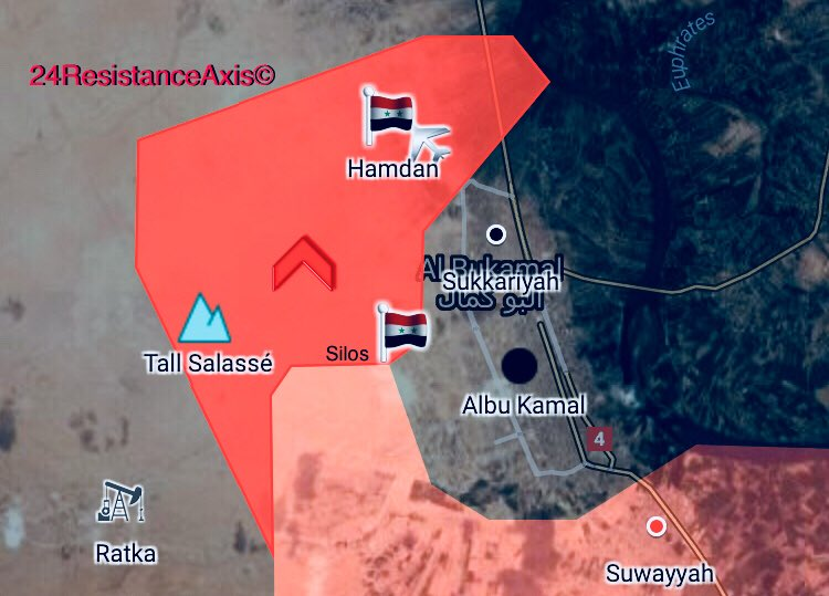 Syrian Military Uses Ballistic Missile Against ISIS In Al-Bukamal As Its Troops Advance In City (Video, Map)