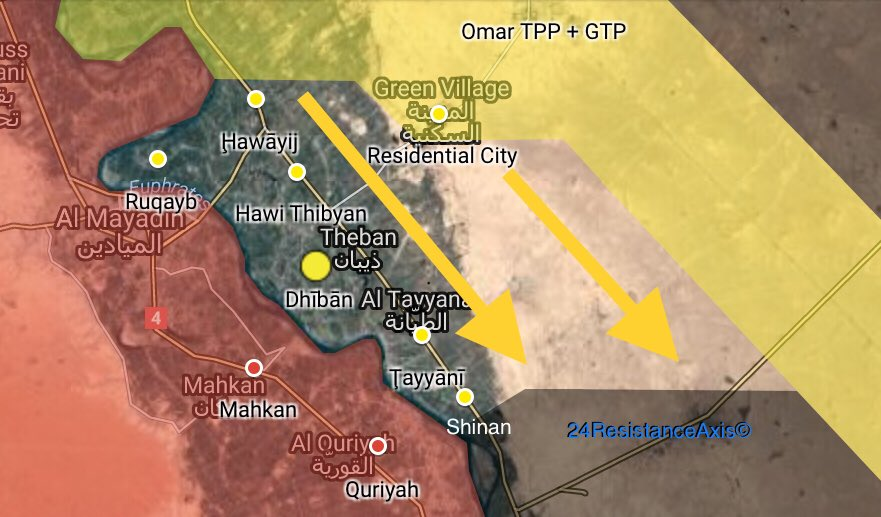 US-backed Forces Capture 6 Villages From ISIS In Euphrates Valley (Map)