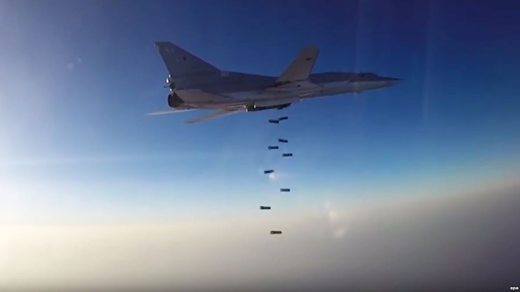 Russian Strategic Bombers Carry Out More Airstrikes On ISIS Near Al-Bukamal
