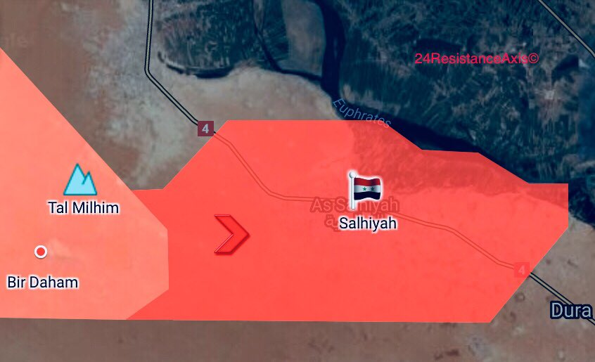 Tiger Forces Capture Town Of Salhiyah, Create Pocket With ISIS Members In Euphrates Valley