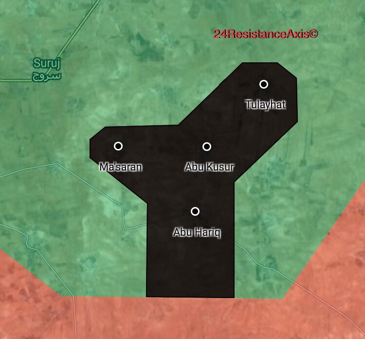 ISIS Cells Surprisingly Capture 4 Villages In Northern Hama (Map)