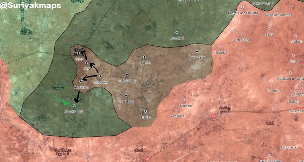 ISIS Once Again Expands Control In Northern Hama, Captures 4 Villages