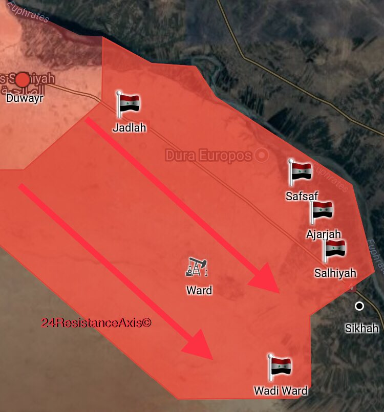 Syrian Army Crushes ISIS Defenses And Captures Nine Villages South Of Mayadin (Map, Photos)