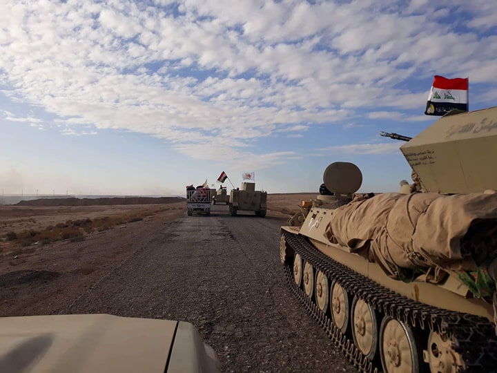 Iraqi Forces Start Operation To Clear Remaining ISIS-held Border Area With Syria From Terrorists
