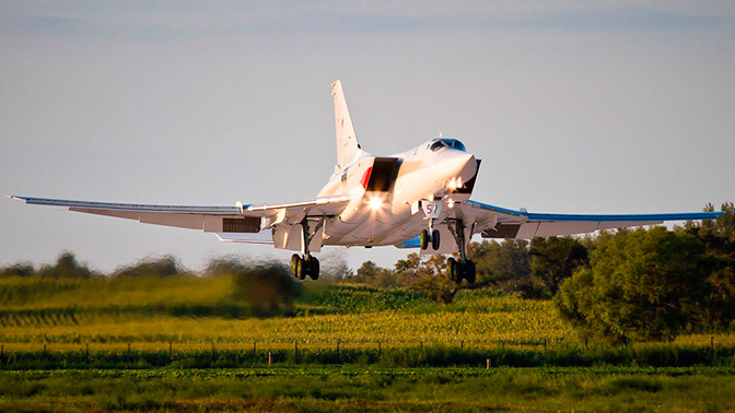 Russian Tu-22M3 Strategic Bomber Struck ISIS Terrorists In Syria's Deir Ezzor Province
