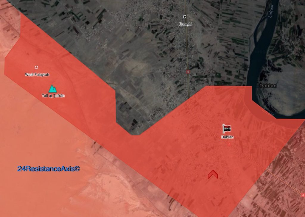 Tiger Forces Capture 2 Villages, Nearby Hill From ISIS In Euphrates Valley (Map)