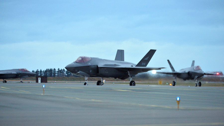 It flies, and it snoops: Norway's pricey F-35s caught sending 'sensitive data' to US