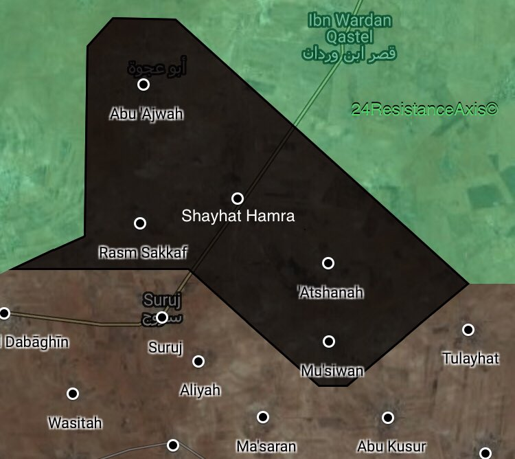 5 More Villages Fall Into Hands Of ISIS In Syria's Northeastern Hama (Map)