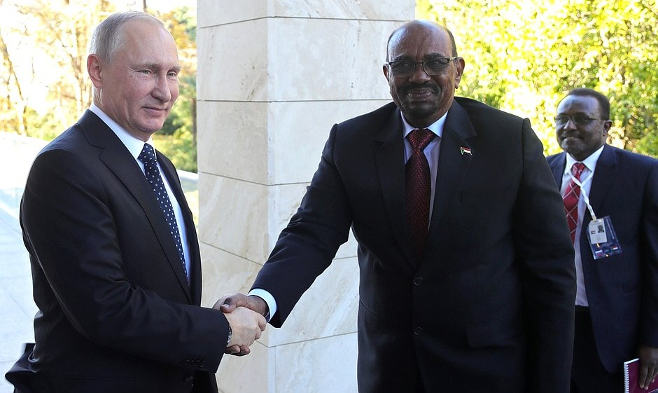 Sudanese President Visits Russia: Seeking Protection from the United States