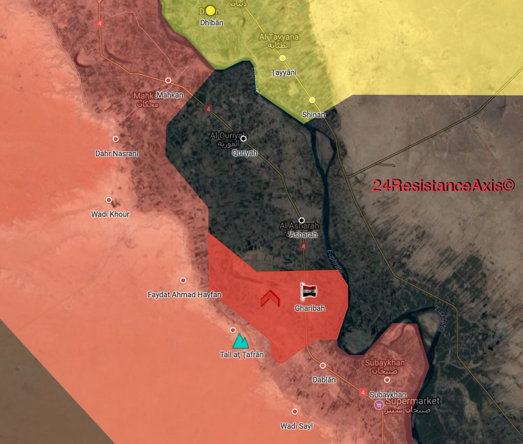 Tiger Forces Liberated Gharibah, Russian Tu-22M3 Bombers Carried Out Massive Strike On ISIS In Deir Ezzor (Map, Video)