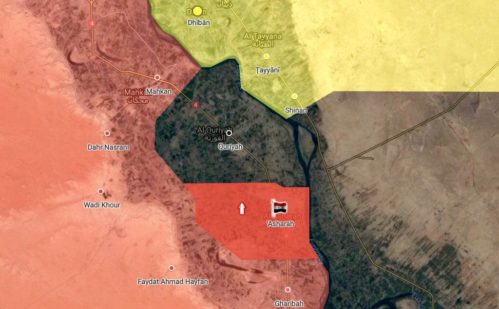 ISIS-held Pocket In Euphrates Valley Is Close To Collapse Under Tiger Forces Pressure (Map)