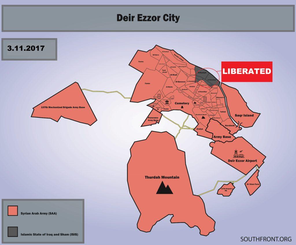 Syrian Army Liberated Deir Ezzor. Overview Of Deir Ezzor Operation Sept. 5 - Nov. 3 (Maps)