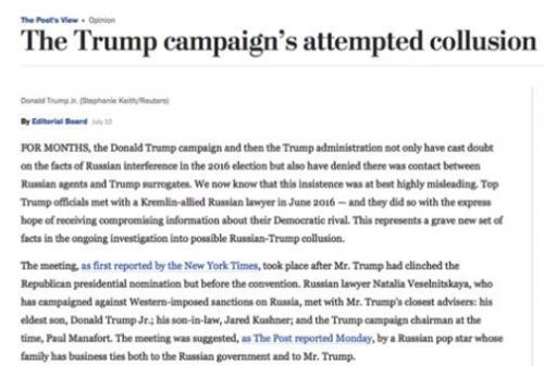 """Washington Post employees caught on hidden camera admitting Trump-Russia story is a """"crap shoot"""" (Video)"""