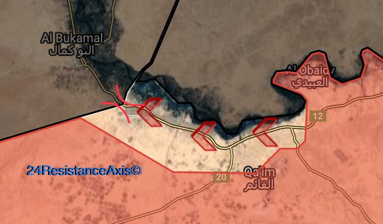 Iraqi Army, PMU Liberated Strategic Al-Qaim City From ISIS (Map)