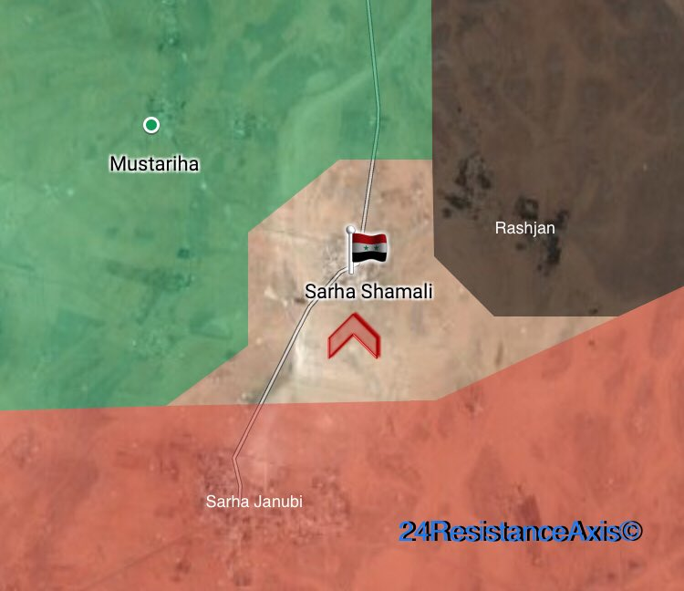 Syrian Army Cotninues Advance Against Al-Qaeda In Northeastern Hama, Liberates Another Village (Map)
