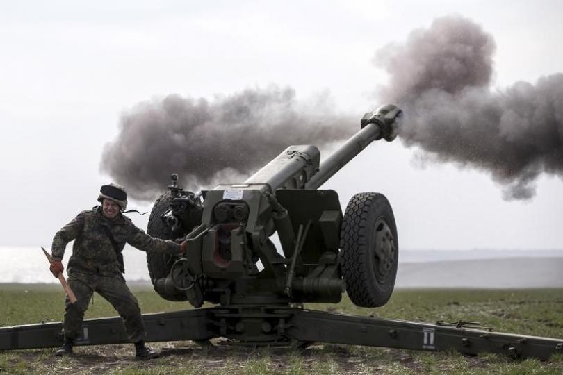 Ukrainian Armed Forces Open Heavy Artillery Fire On DPR Forces In Region Of Donbass
