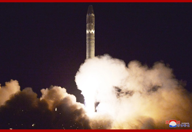 North Korea Showcases Intercontinental Ballistic Missile Capable Of Striking Any Point In U.S. (Photos, Video)