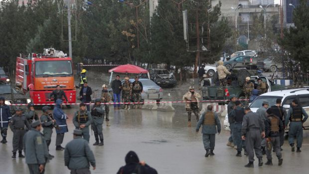 ISIS Suicide Bomber Attacked Political Party Meeting In Kabul, 18 killed