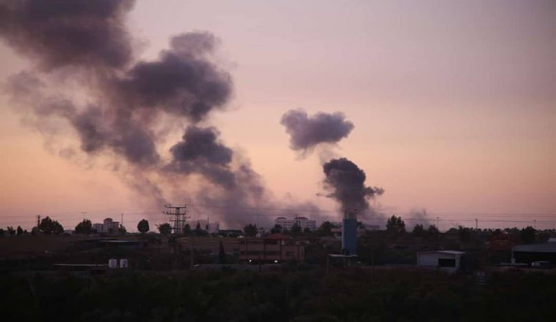Islamic Jihad Movement Attack Israeli Position North Of Gaza Strip. Israel Responds (Video)