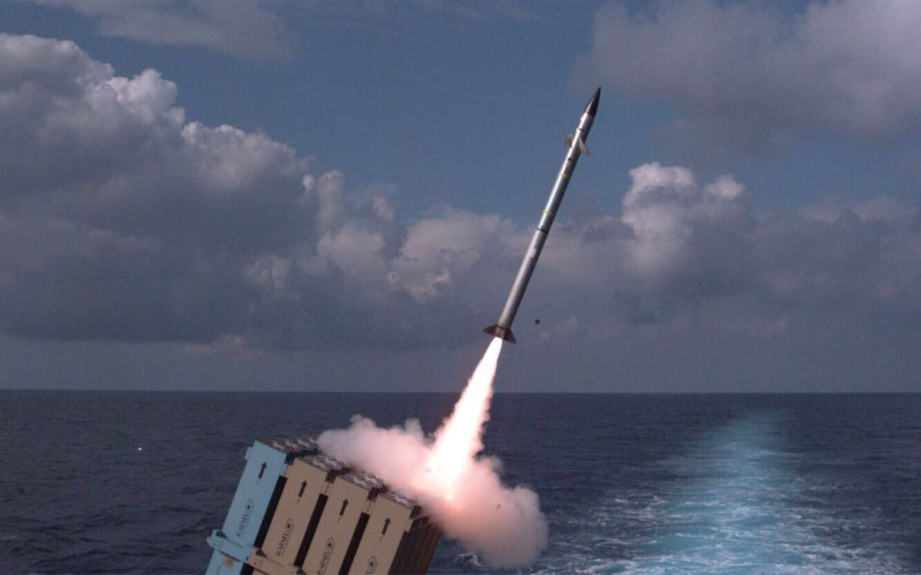 Israel Declares Naval Iron Dome System Operational (Photos)