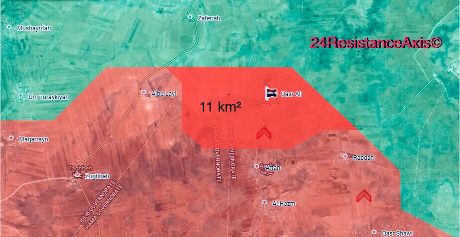 Syrian Troops Retake Sarha Shamali Village In Northern Hama (Maps)