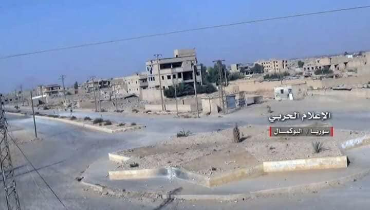 Syrian Army Captured Most of Al-Bukamal City, Started Securing Remaining Area (Video, Map)