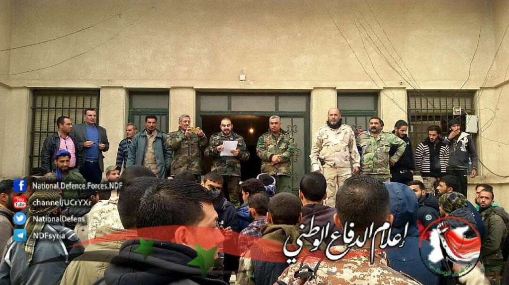 Photos: Syrian Military Sends Reinforcements To Fight ISIS In Deir Ezzor Province
