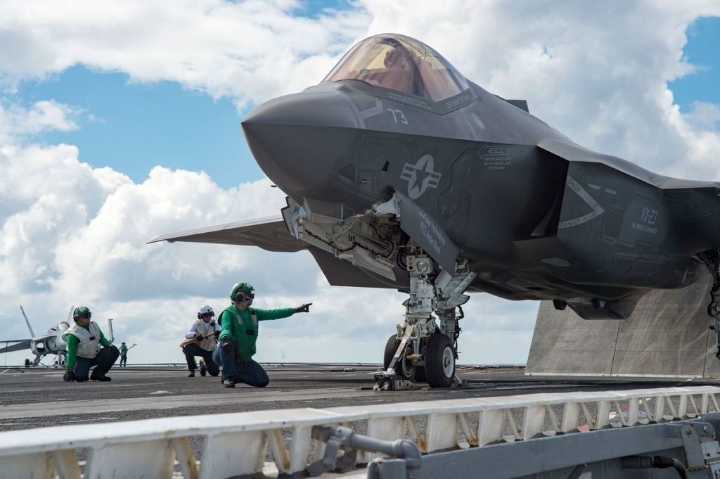 Lockheed F-35 Deliveries Were Halted For 30 Days Because Of 'Corrosion' Problems